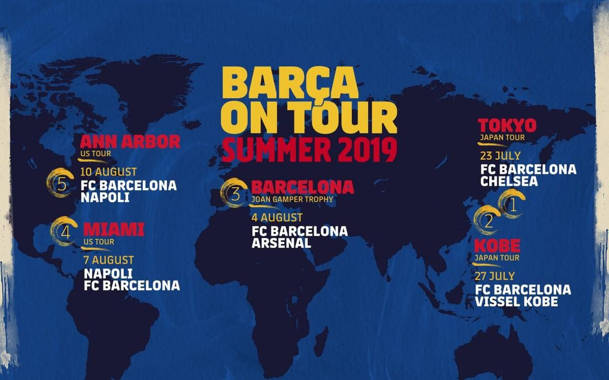 This is the Barça preseason