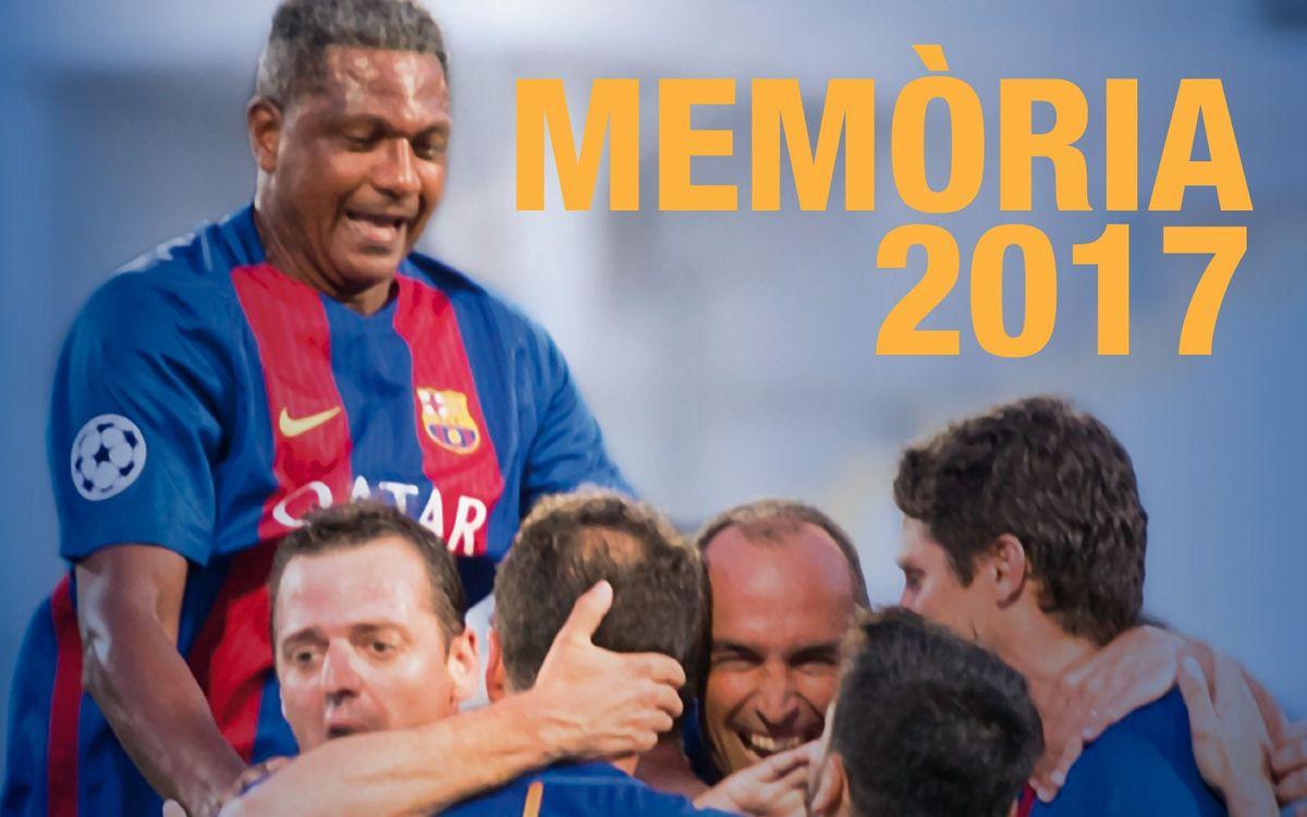 Memòria anual de l'Agrupació Barça Jugadors - 2017