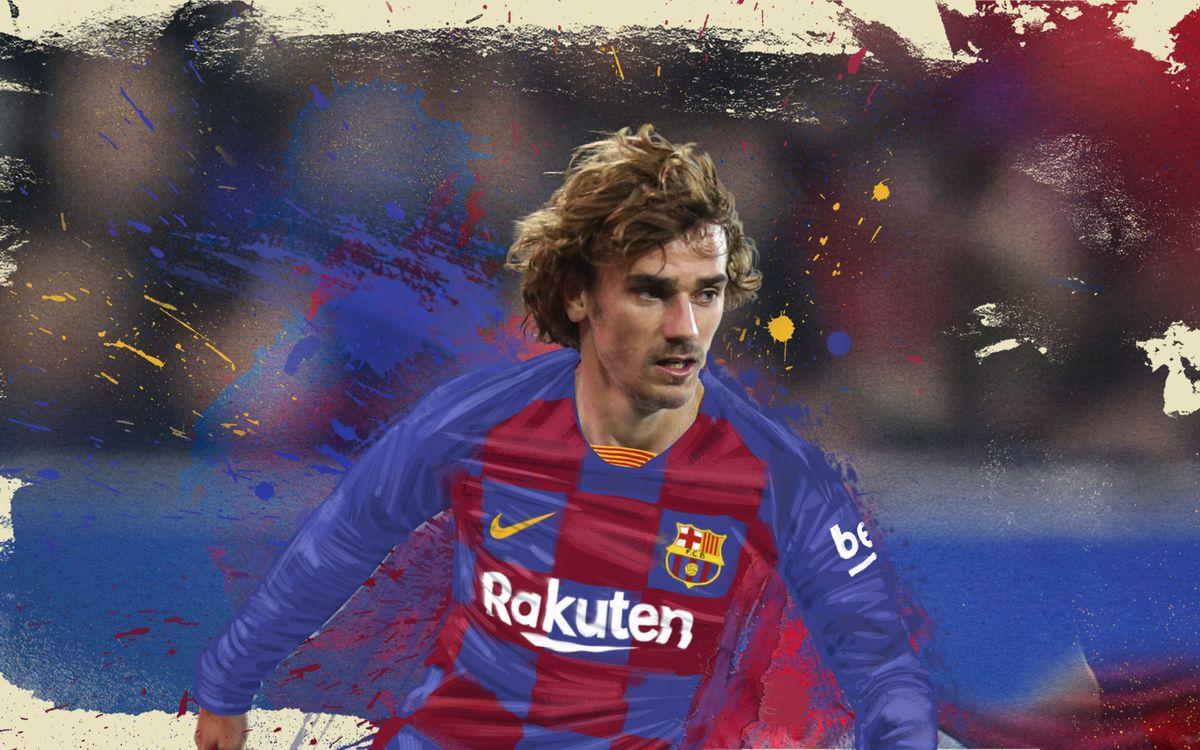 Barça sign Antoine Griezmann