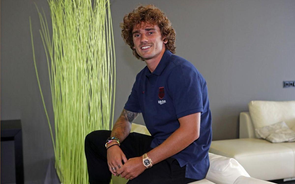 """Griezmann: """"J'arrive dans un énorme club"""""""