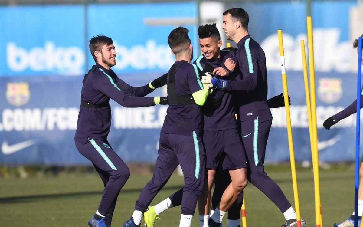 El Barça B inicia la pretemporada 2019/20 aquest dilluns