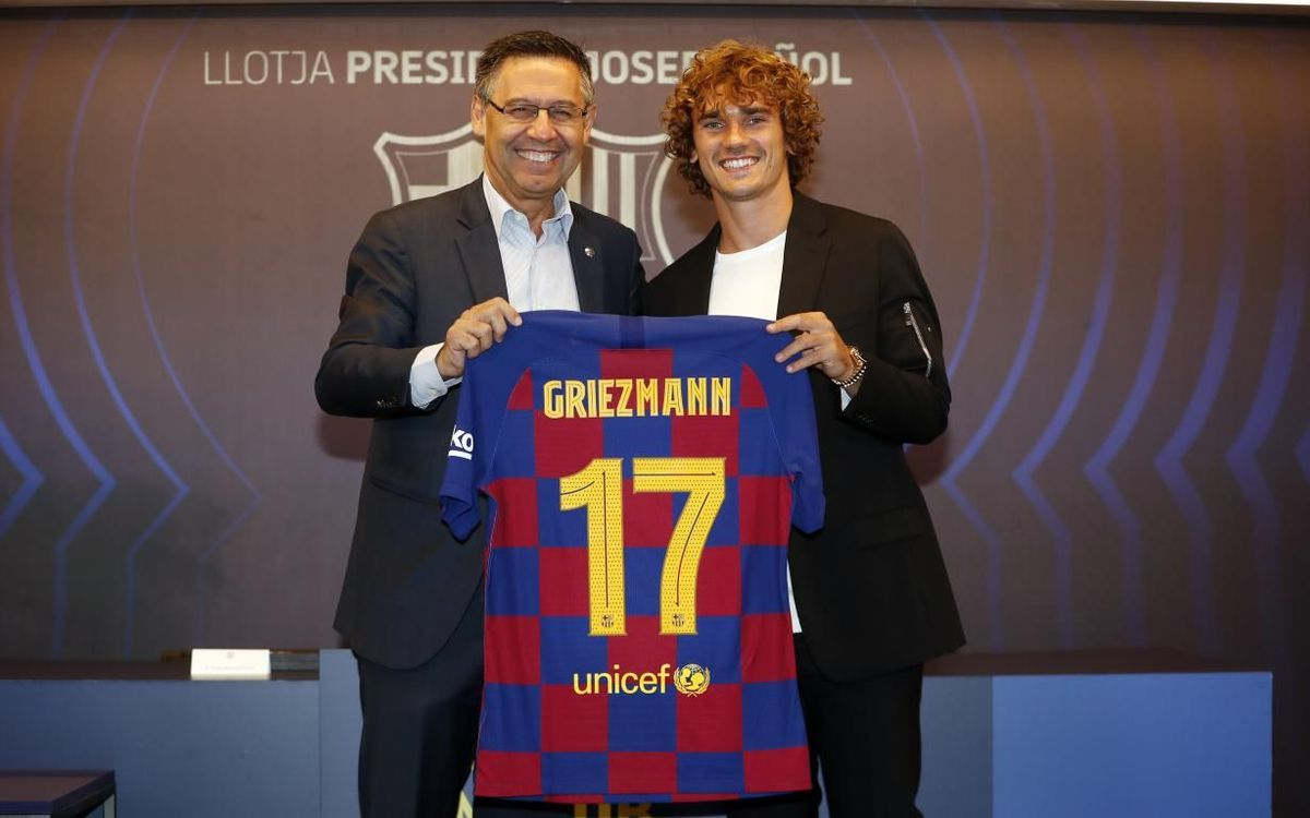 Griezmann: 'I'm very excited about this new challenge'