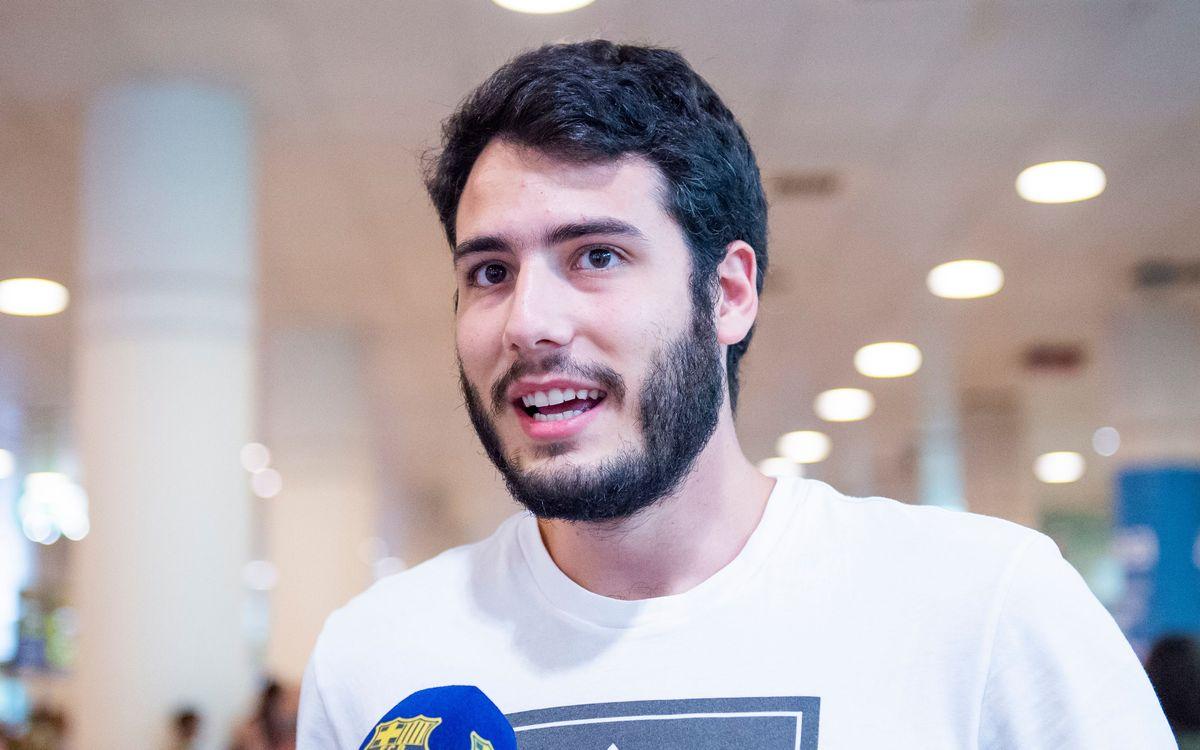 """Álex Abrines: """"Tengo más ganas que nunca"""""""