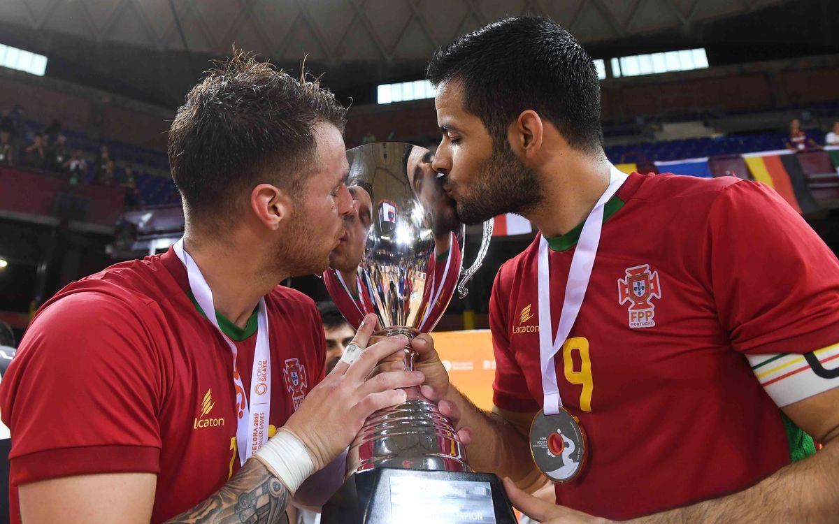 ¡Helder Nunes y João Rodrigues, campeones del mundo en el Palau!