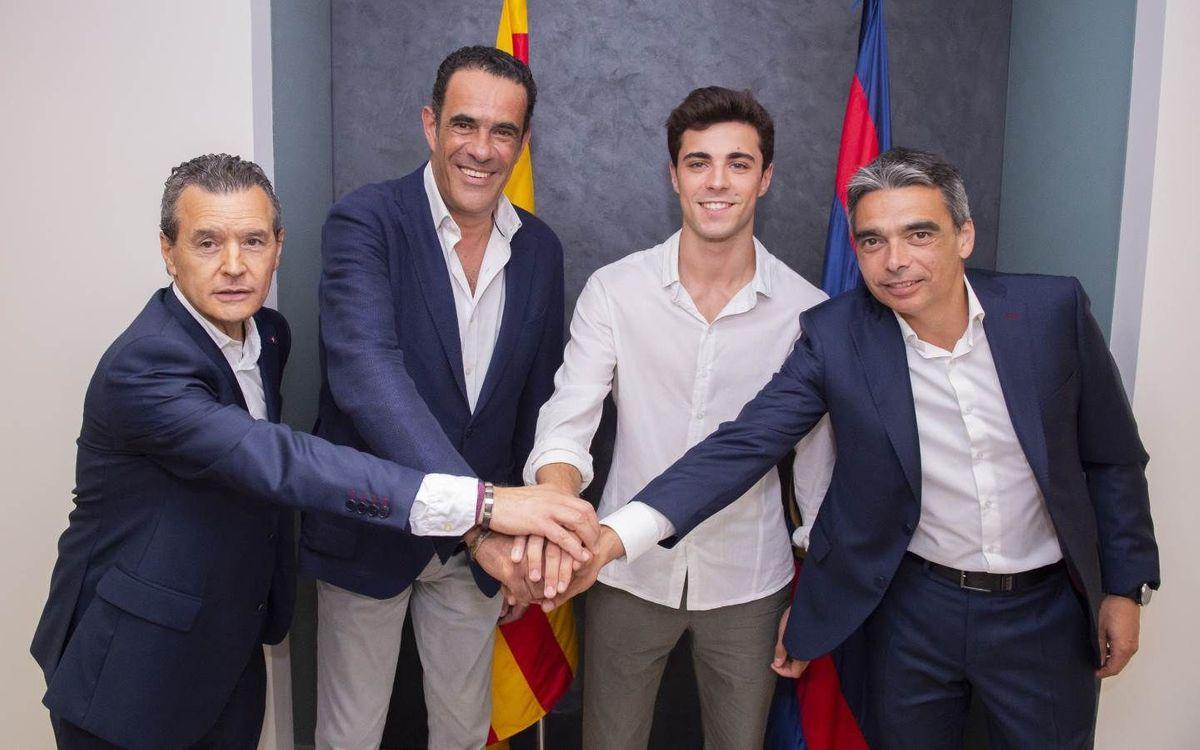 Ampliación del contrato de Ignacio Alabart hasta el 2023