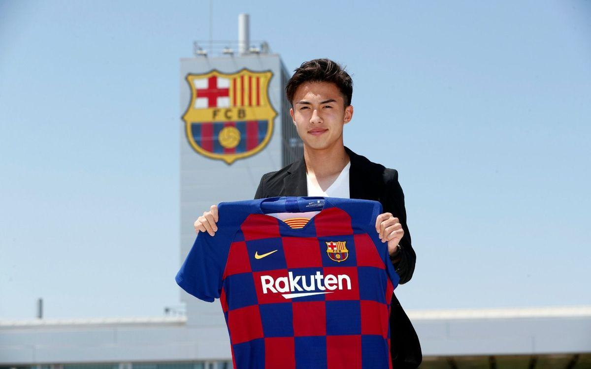 Hiroki Abe s'incorpora al Barça