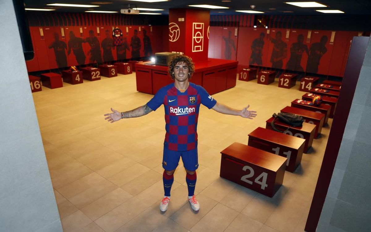 A year to the day of Antoine Griezmann's presentation