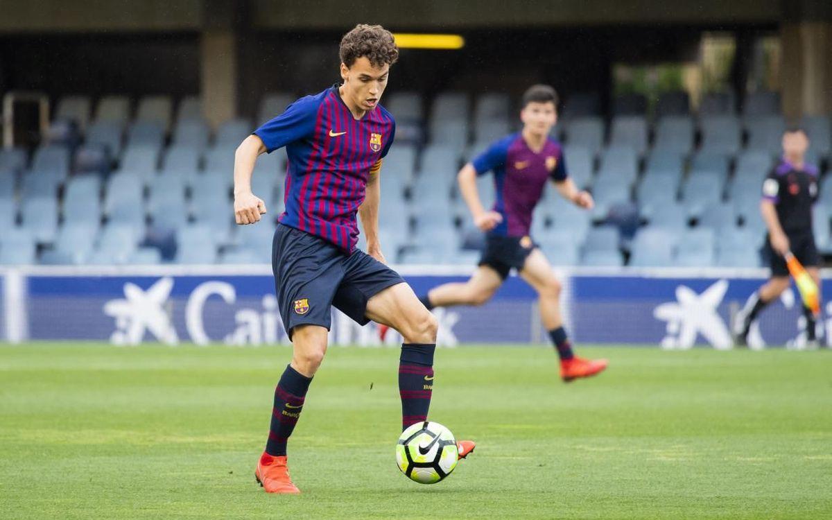 Goleada culé en el estreno de la selección española en el Europeo sub-19 (1-4)