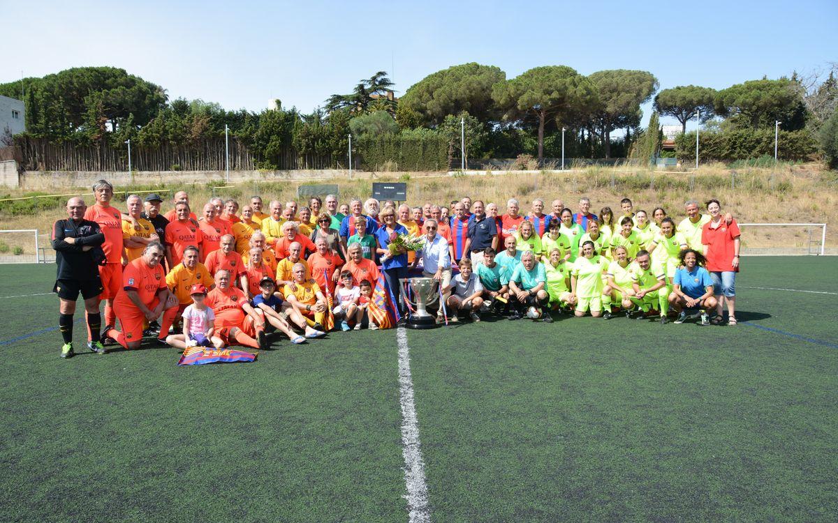 Els jugadors de l'Agrupació disputen un Quadrangular a Sant Andreu de Llavaneres