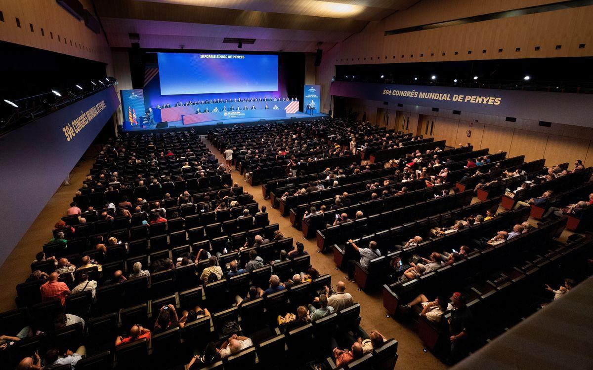 Els socis compromissaris, convidats al Congrés de Penyes Barcelonistes
