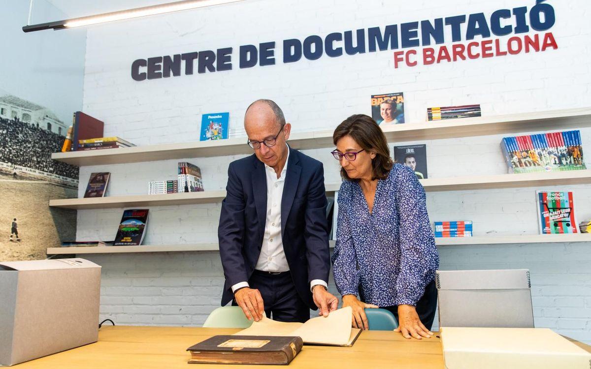 El Centro de Documentación y Estudios vuelve a abrir sus puertas al público en una nueva sede, en Travessera de les Corts