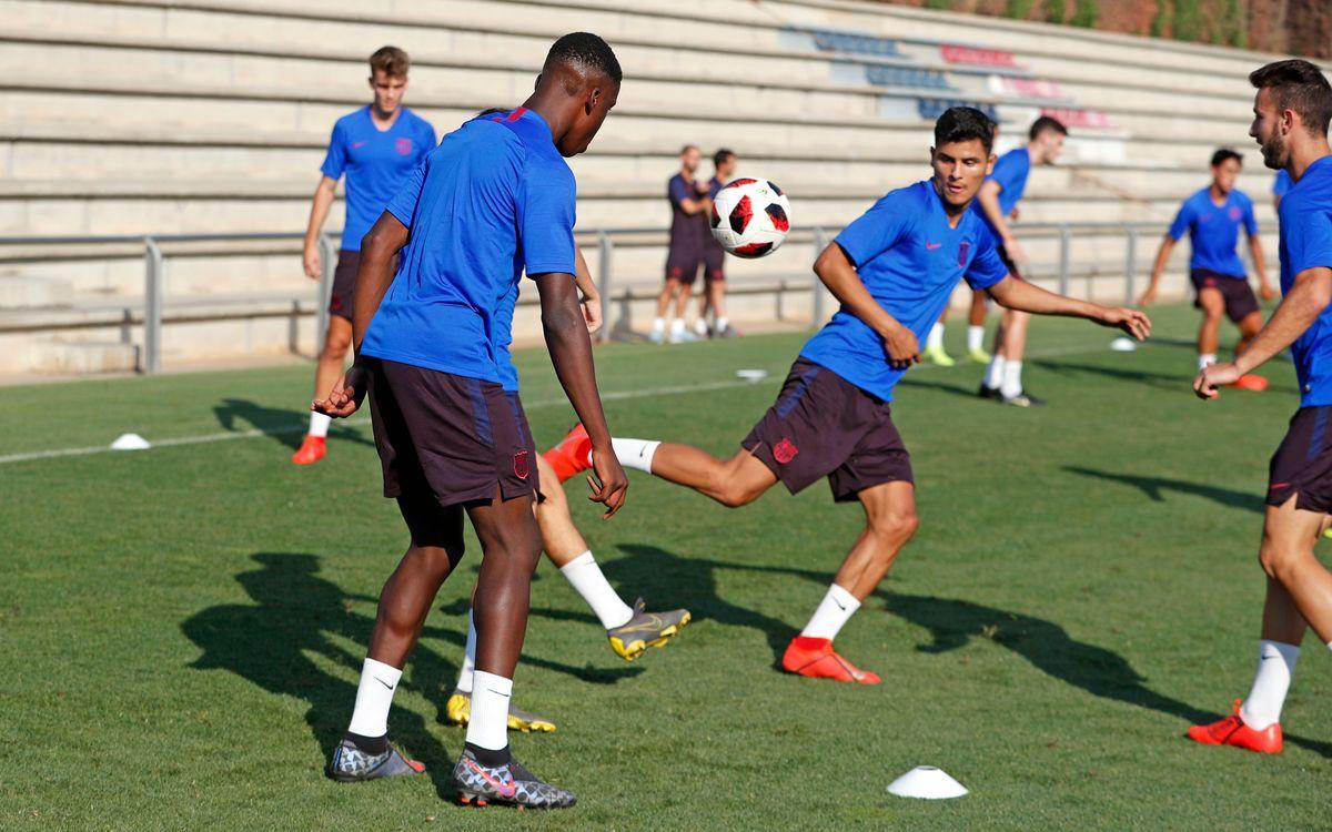 El Barça B debutará en la Liga en el campo del Badalona