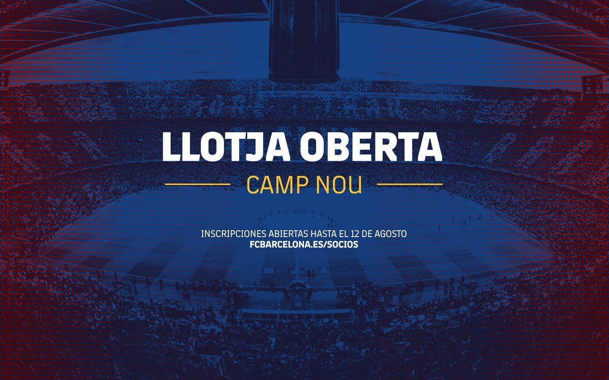 Disfruta de un partido desde el Palco Presidencial del Camp Nou