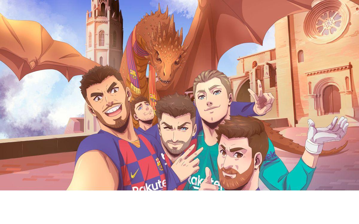 El FC Barcelona promociona Catalunya com a destinació turística durant la gira al Japó