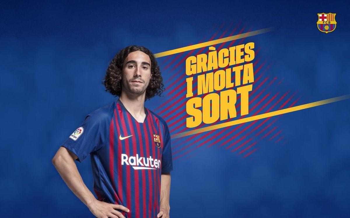 Acord amb el Getafe per a la cessió de Marc Cucurella