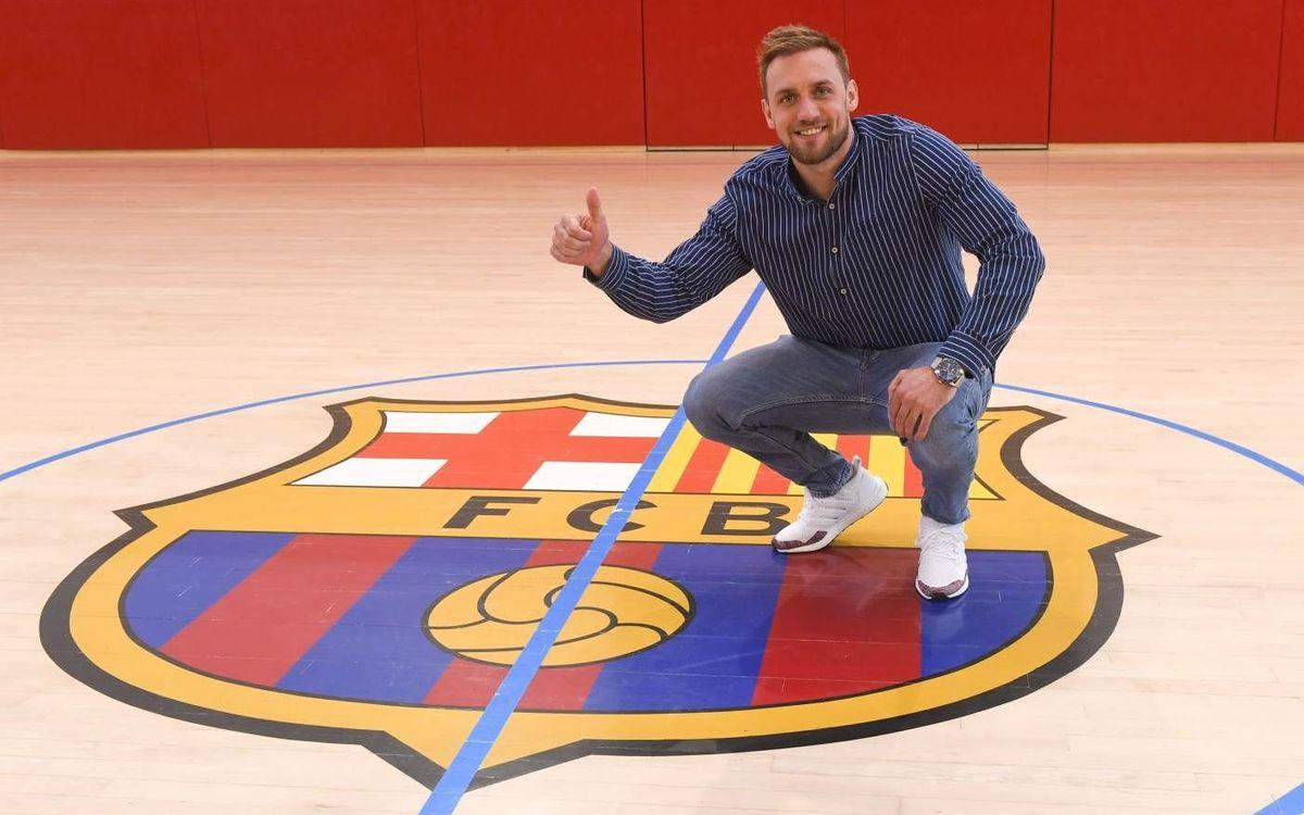 Luka Cindric és el sisè croat de la història del Barça d'handbol