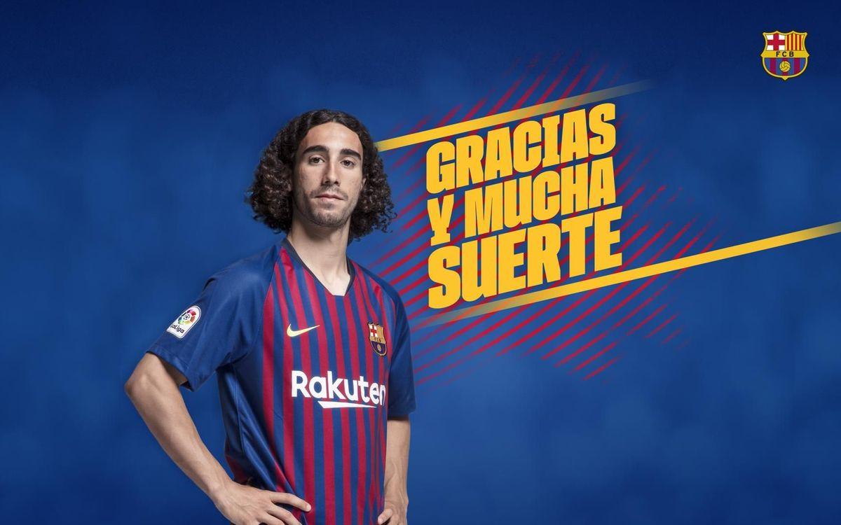 Acuerdo con el Getafe por la cesión de Marc Cucurella