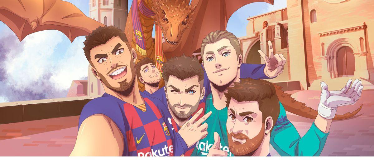 El FC Barcelona promociona Catalunya como destino turístico durante la gira de Japón