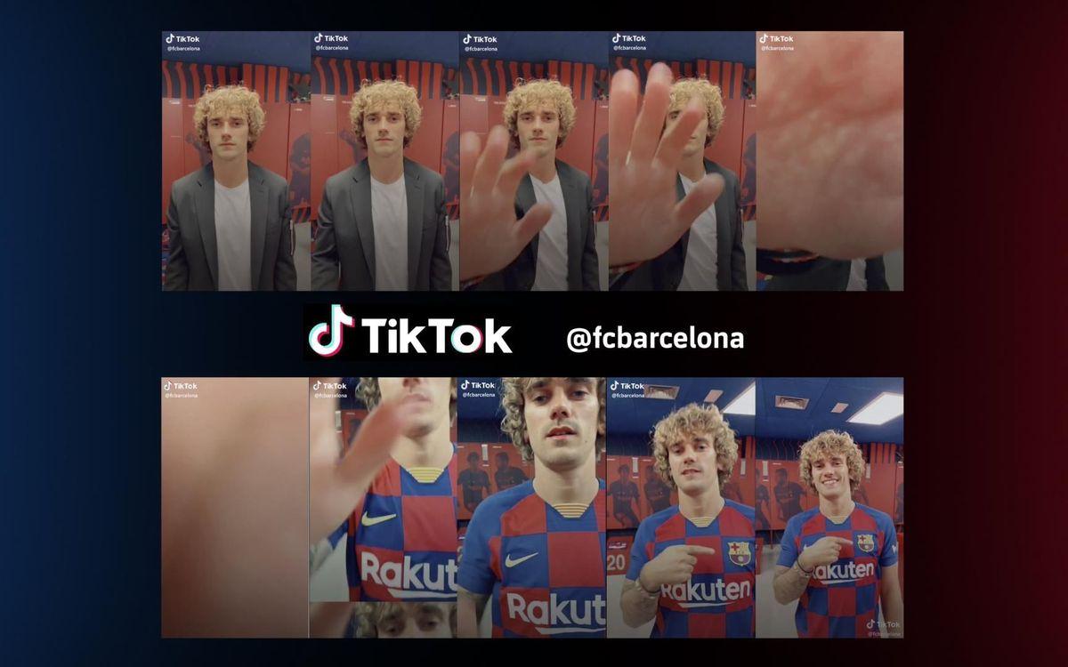 El FC Barcelona estrena perfil social a TikTok, la plataforma de moda entre els joves