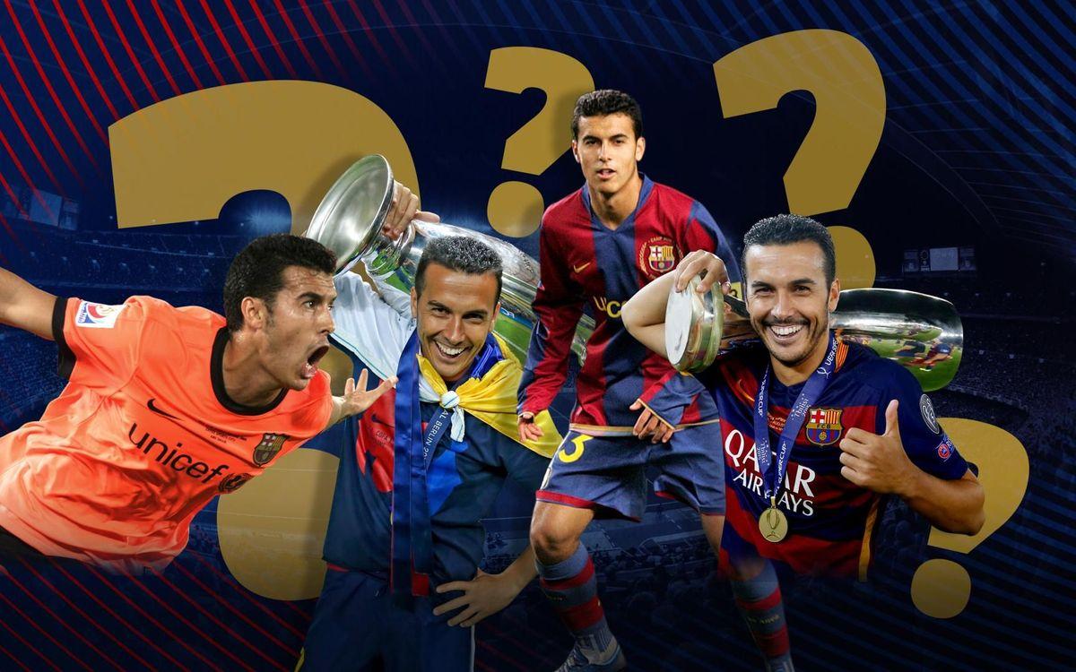 ¿Qué sabes de la etapa de Pedro en el FC Barcelona?