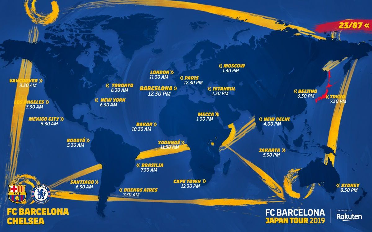 When and where to watch Barça - Chelsea