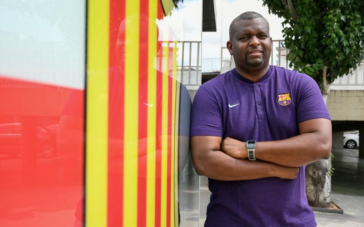 Fredinson Mosquera, nou entrenador del Barça de voleibol