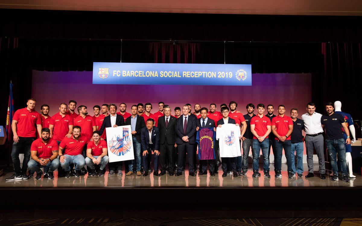 El Barça Rugby se estrena en la gira