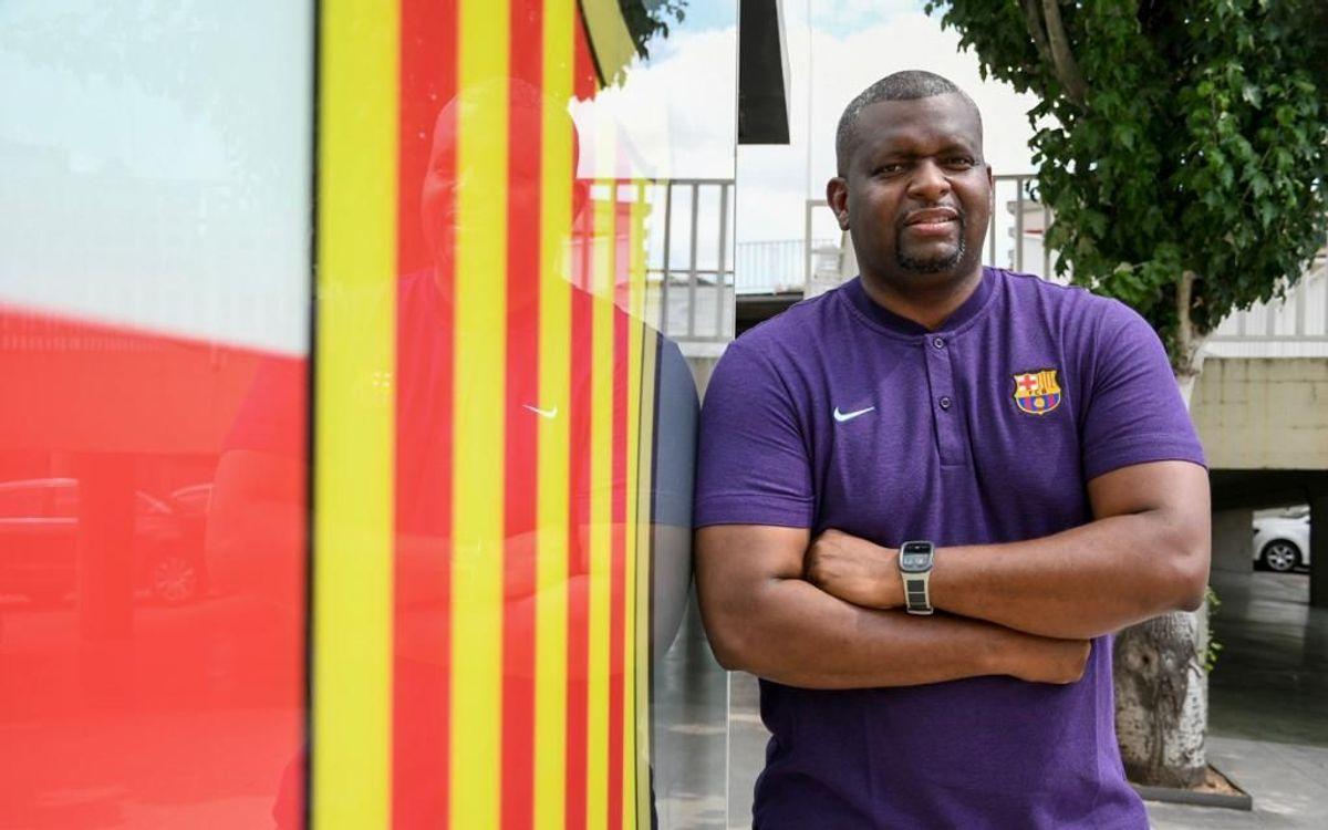 Fredinson Mosquera, nuevo entrenador del Barça de voleibol