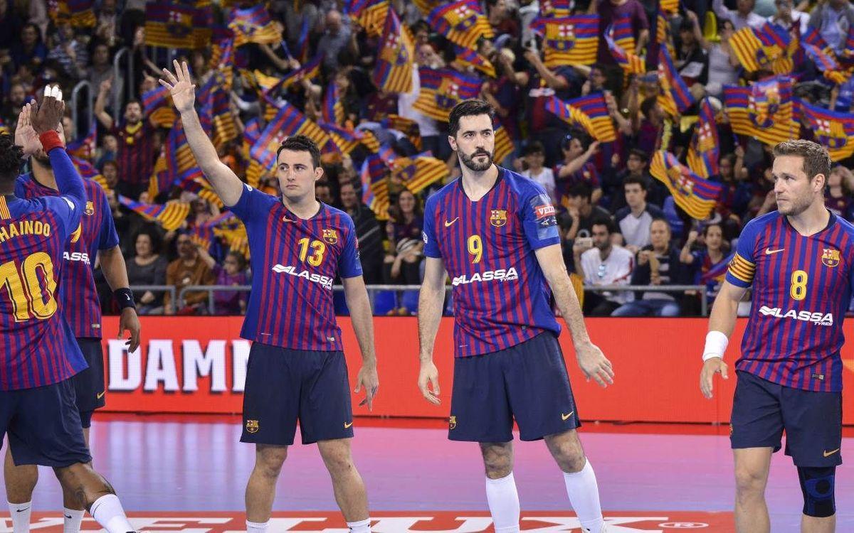 El Barça debutarà a la Champions a la pista del Pick Szeged