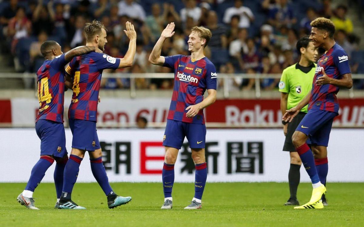 Vissel Kobe-Barça: en directo por la web y por Barça TV