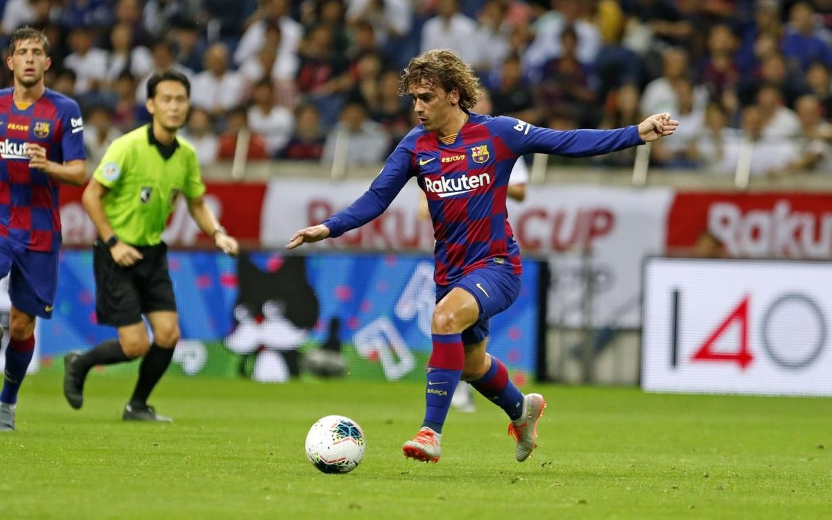 Griezmann: 'I am really happy to have enjoyed my first minutes in the shirt'