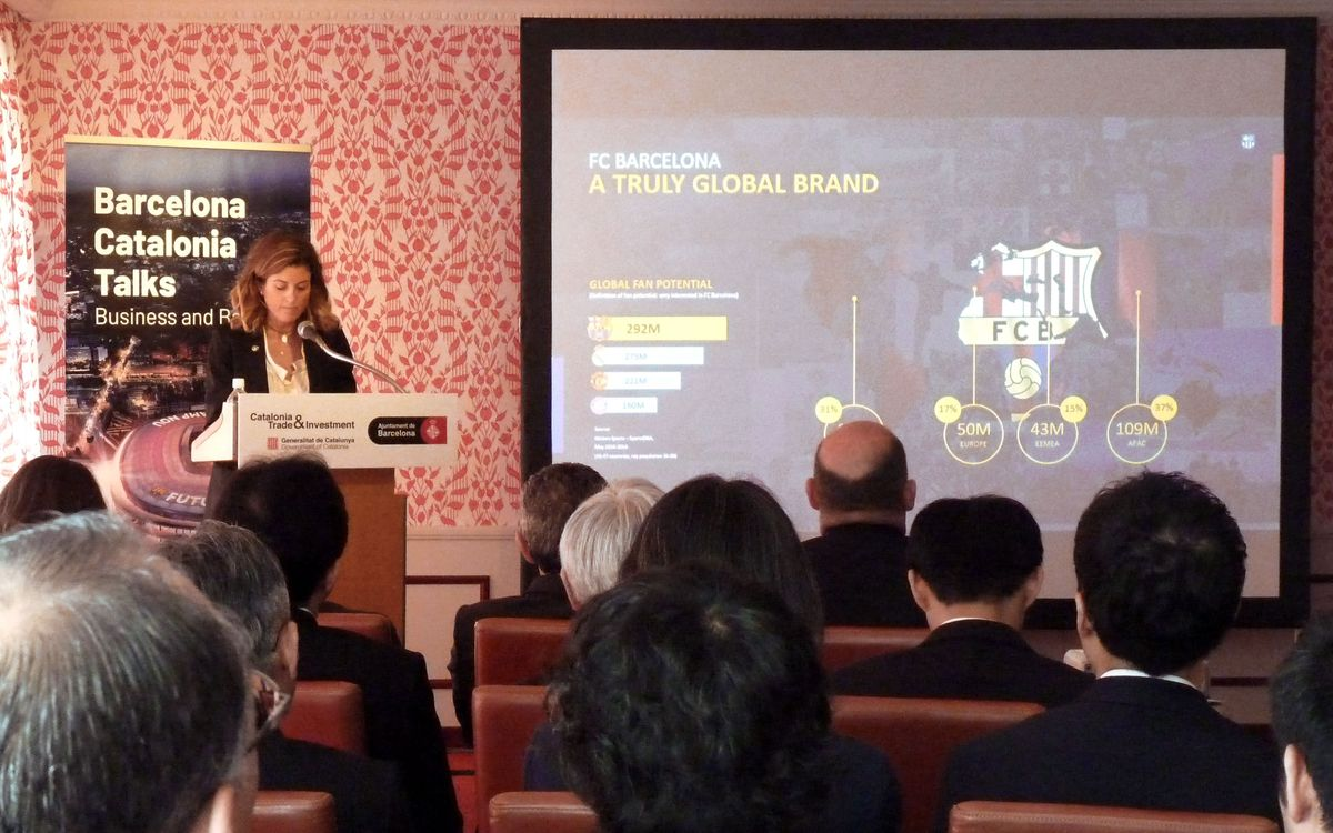 Barça helping to attract Japanese investment in Catalonia