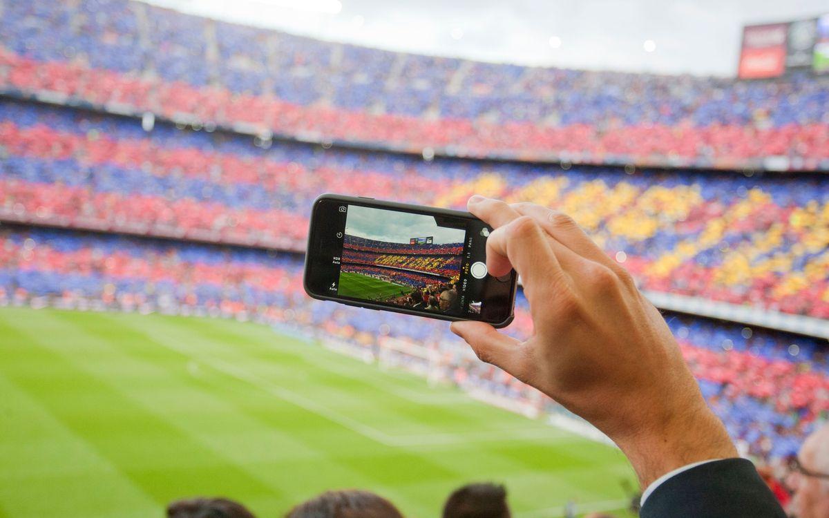 Le Barça, 1er club à dépasser le milliard d'interactions sur une année