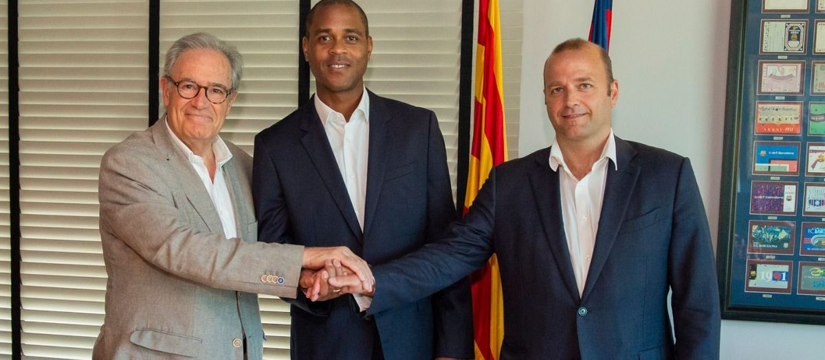 Patrick Kluivert, new director of youth football