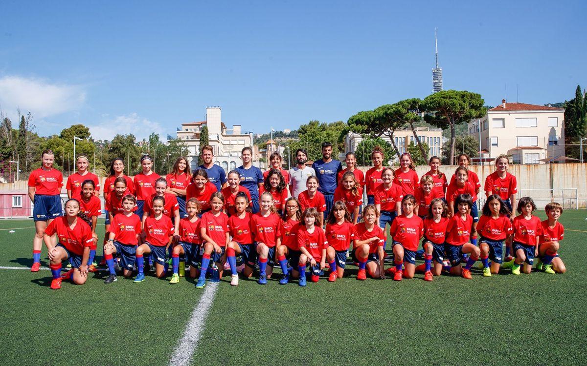 La Agrupación visita el Campus Barça Academy y SPORT de Barcelona