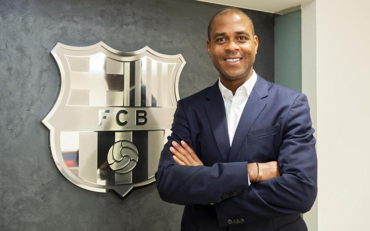 Patrick Kluivert, nou director del futbol formatiu