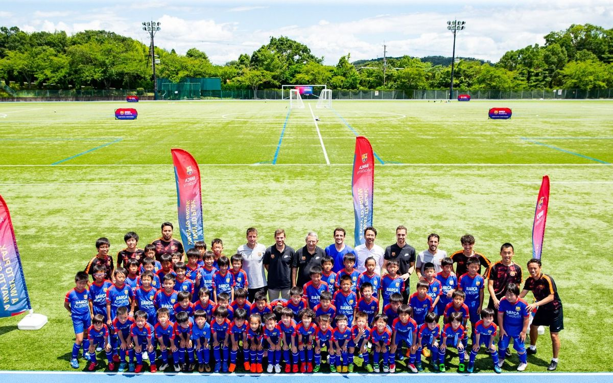 Barça Academy Clinic in Japan