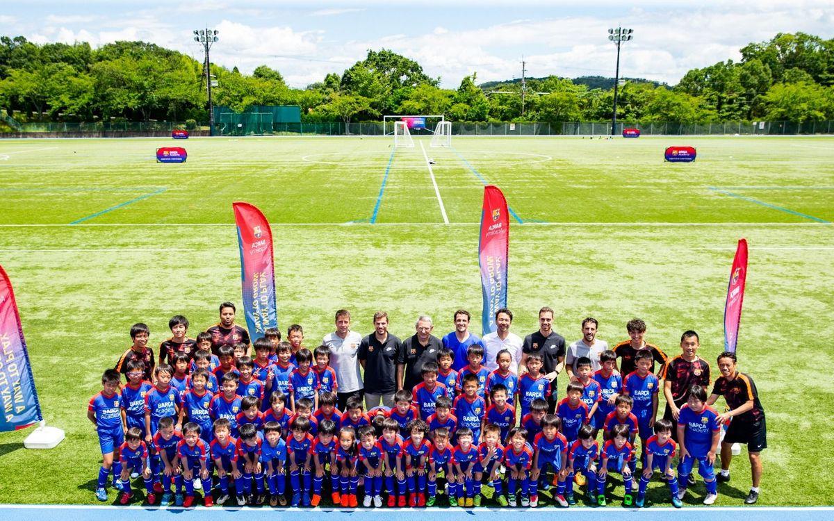 Barça Academy Clinic in Japan
