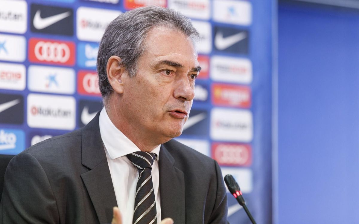 Agreement for the termination of Pep Segura's contract