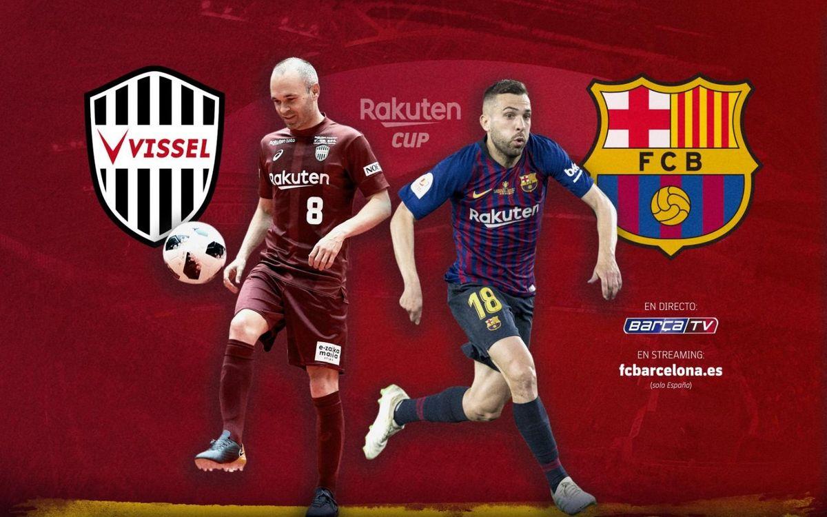 Vissel Kobe - FC Barcelona: El test más especial