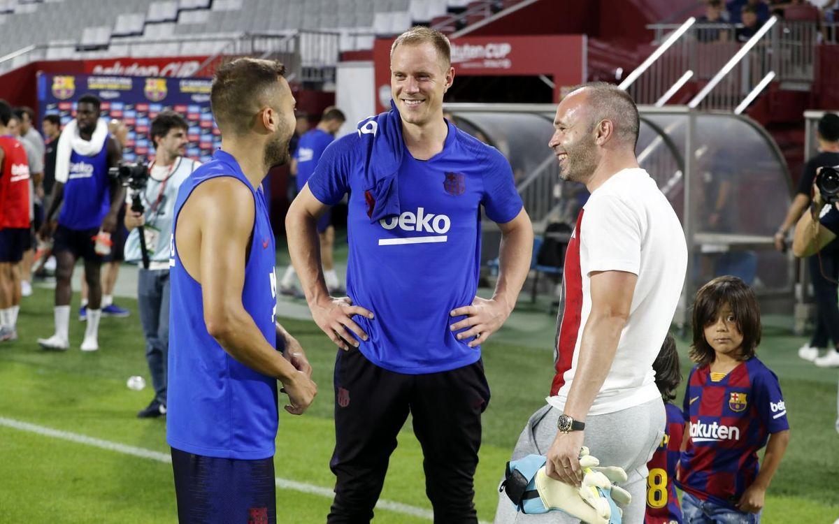 """Iniesta: """"Es un privilegio enfrentarme al Barça"""""""