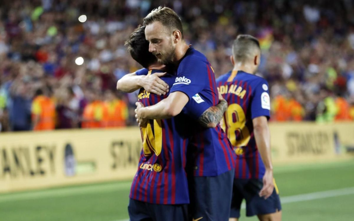 Messi and Rakitic nominated for UEFA Goal of the Season
