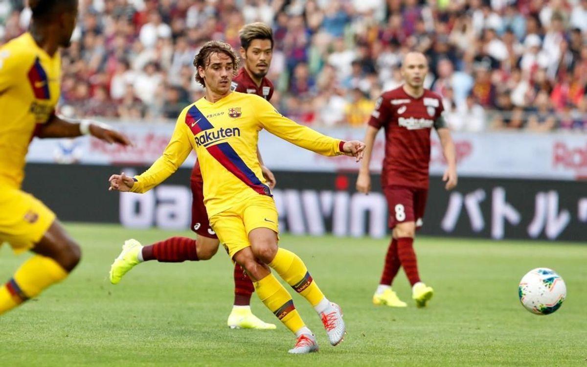 Vissel Kobe - FC Barcelone : Victoire chez Iniesta (0-2)