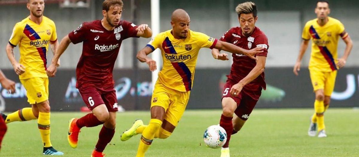 ヴィッセル神戸– FC バルセロナ: 日本での第二戦、カルラス・ペレスが勝利をもたらす (0-2)