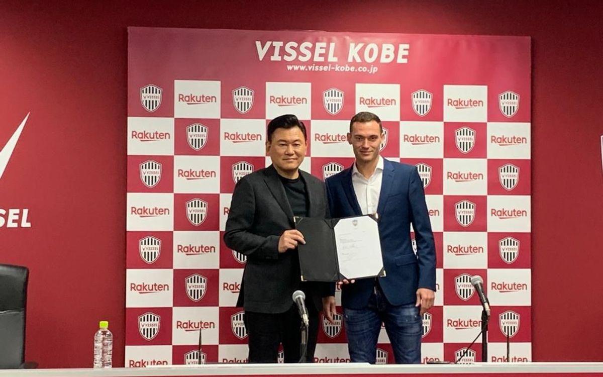 Vermaelen signs for Vissel Kobe