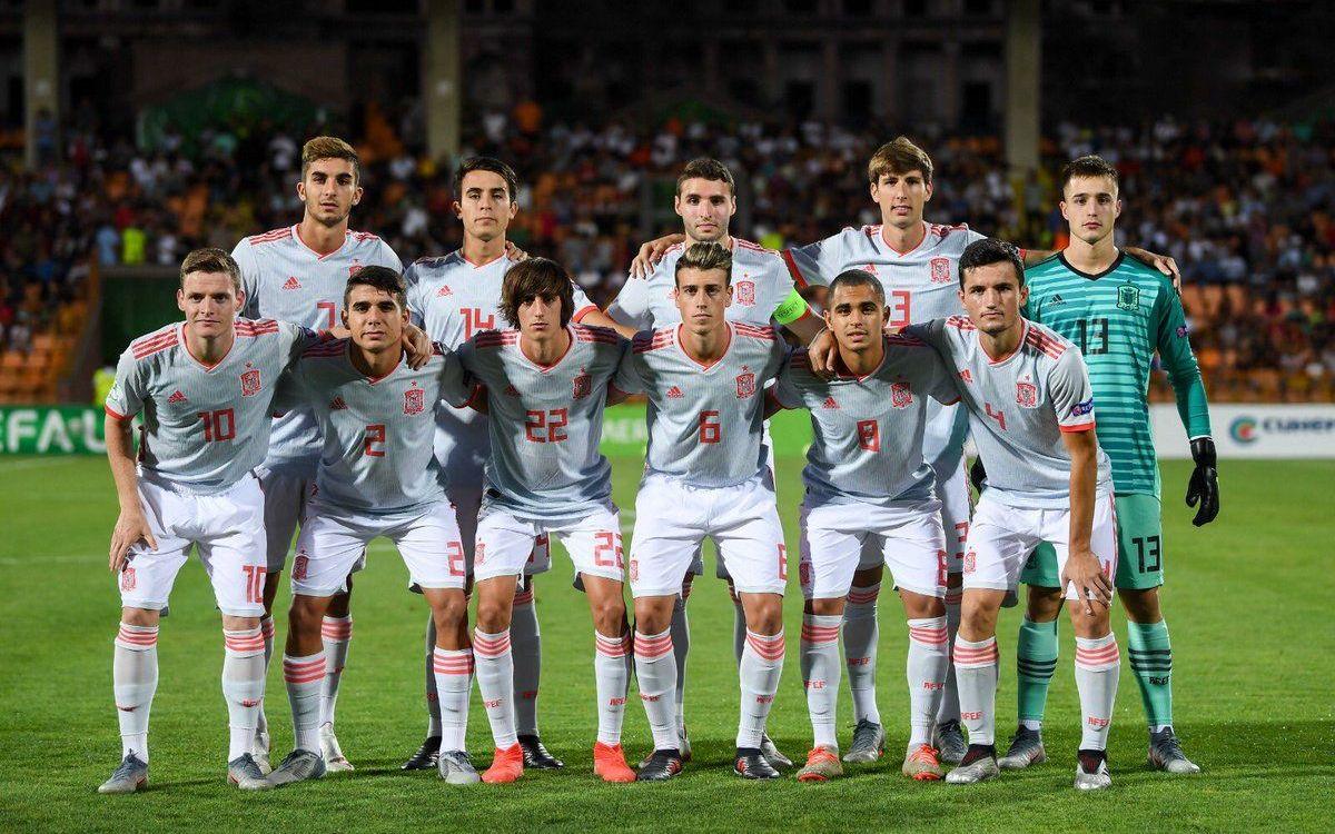 L'11 de la selecció espanyola contra Portugal