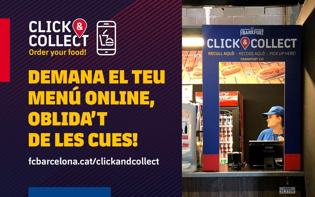 Click&Collect: demana el teu menú online, sense cues!