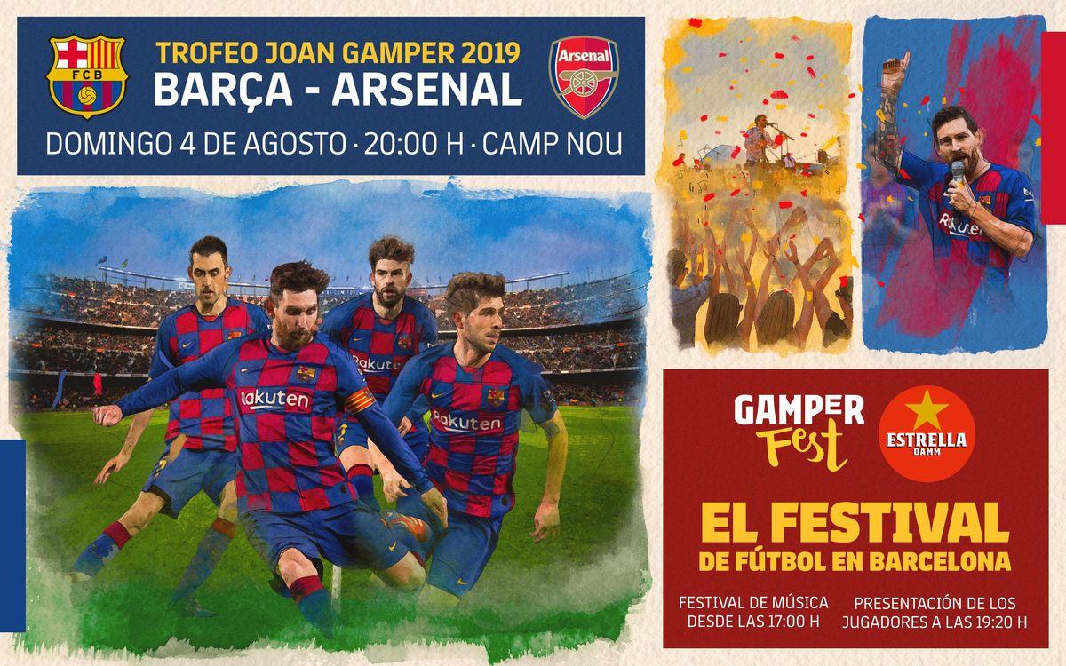 ¡Vive el Gamper en el Camp Nou!