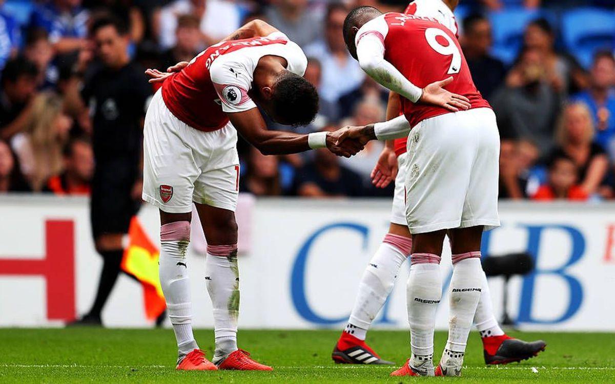 Aubameyang i Lacazette, una connexió golejadora i especial - Arsenal