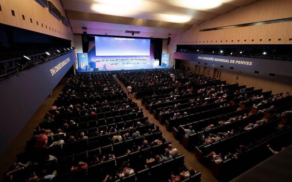 El 40è Congrés Mundial de Penyes coincideix amb la festa del Gamper